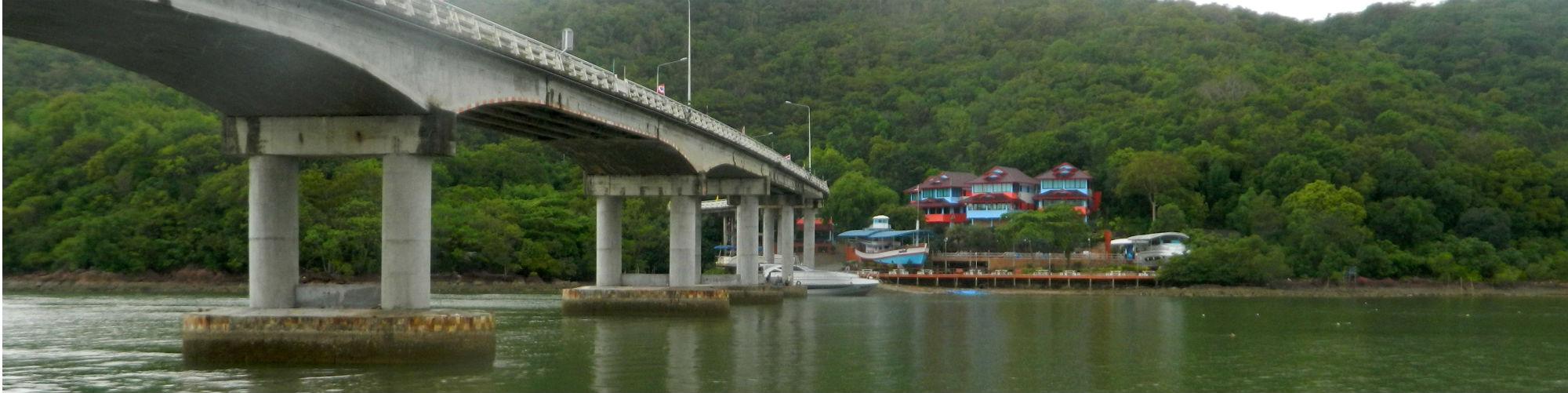 Laem Sing Bridge, Chanthaburi Province