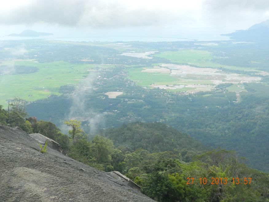 View from Gunung Raya, Langkawi Island, Malaysia