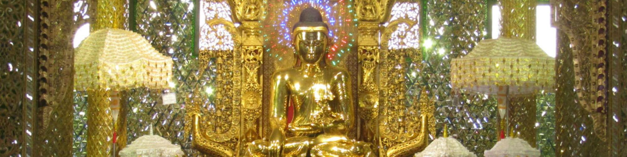 Royal Palace Bronze Image, Botahtaung Pagoda, Botahtaung, Yangon
