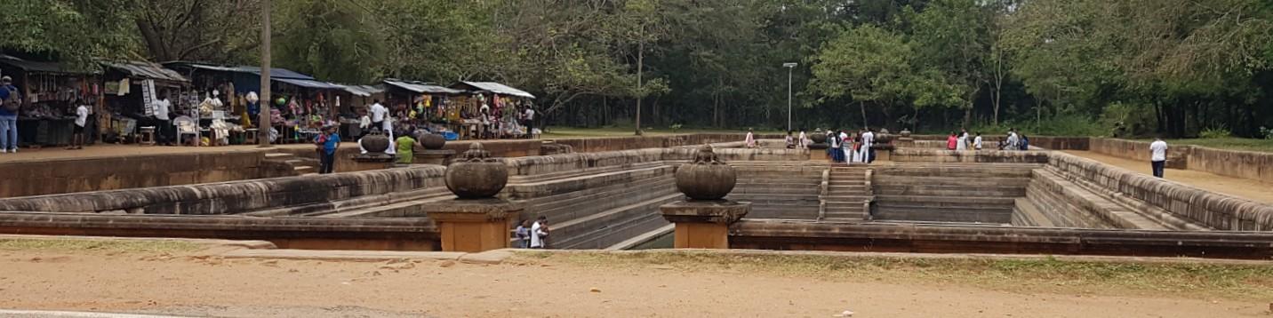 Twin Ponds, Anuradhapura Historical Park