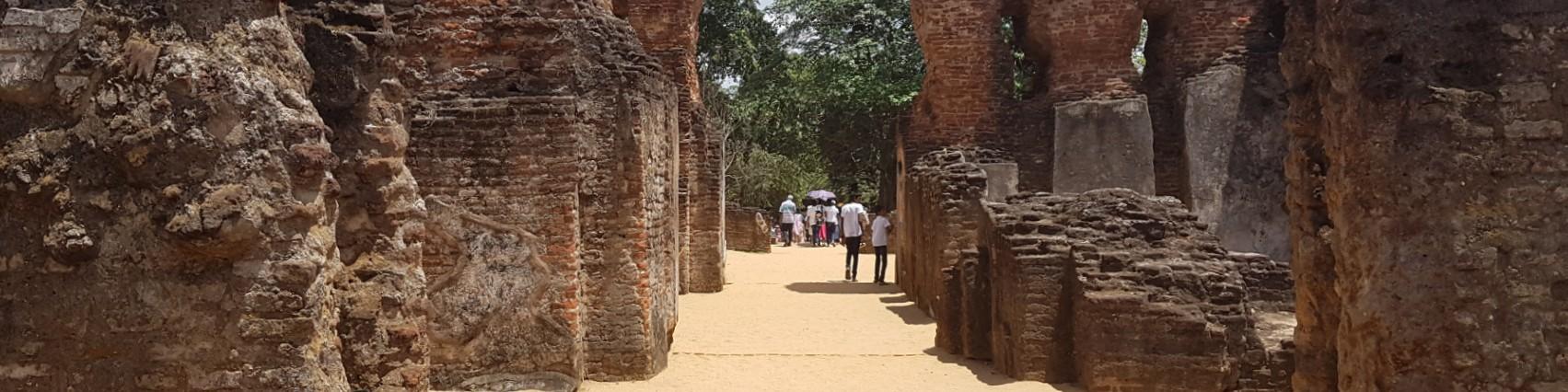 The Royal Palace, Polonnaruwa Historical Site