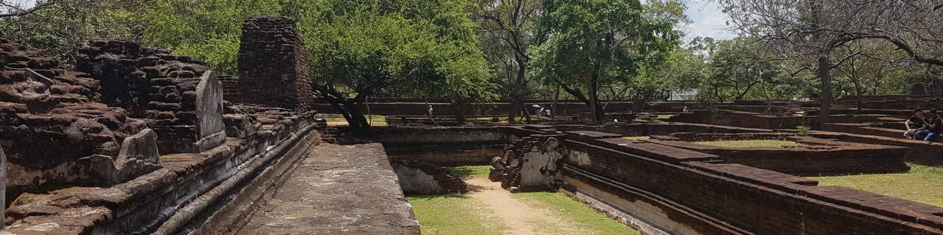 Part of the Citidel, Polonnaruwa Historical Site