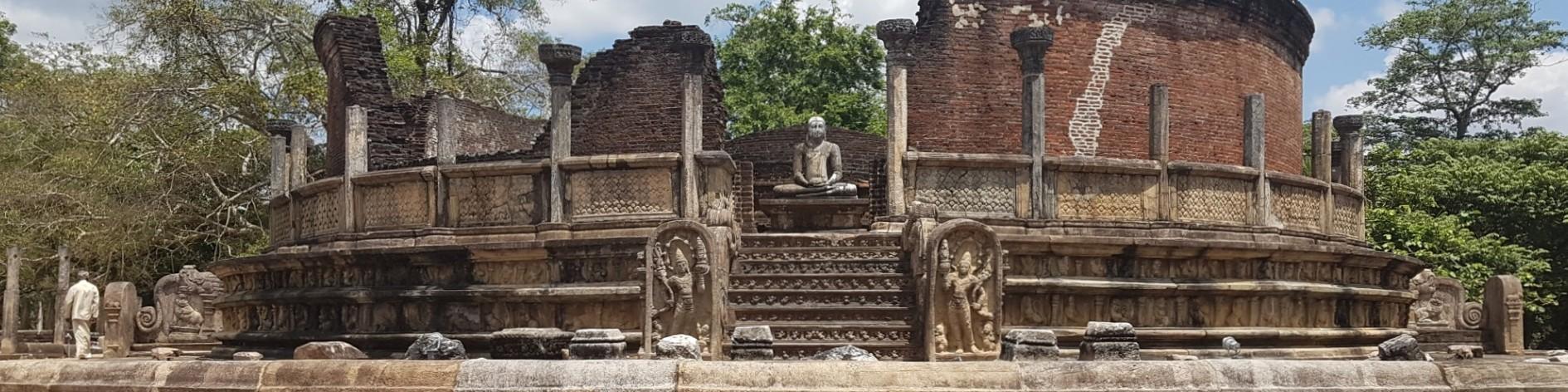 Hatadage (40), Polonnaruwa Historical Site, Polonnaruwa District, North Central Region
